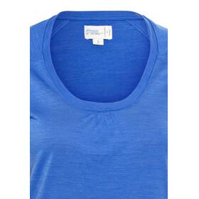 Bergans Sveve Bluzka z krótkim rękawem Kobiety niebieski